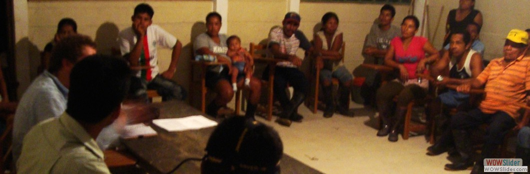 Working with Indigenous Community of Valencia -2012.