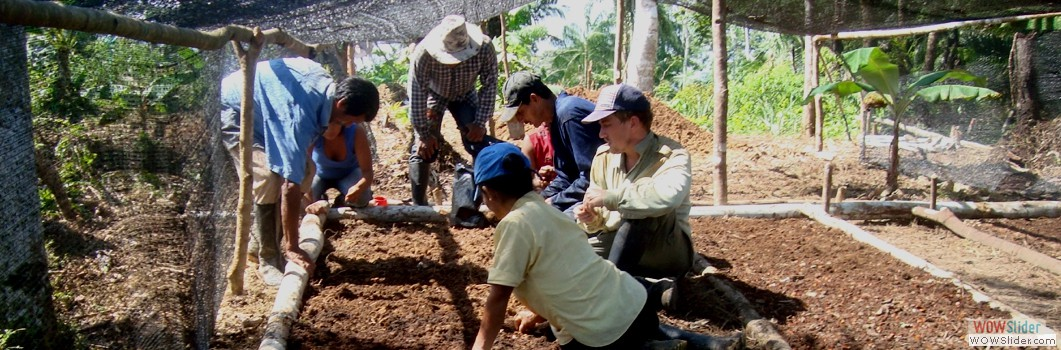 Working with Indigenous people in Mocagua -2013.